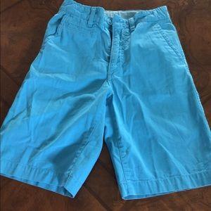 Gap Boys shorts slim size 12 teal blue
